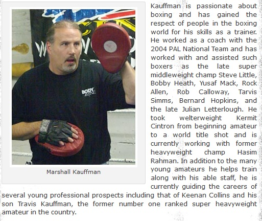 Marshall Kauffman - King's Boxing