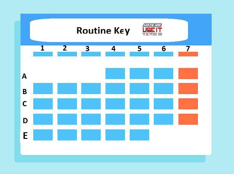 Routine Key
