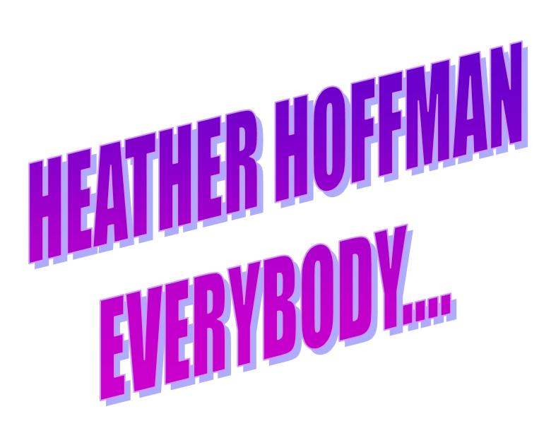 Heather Hoffman