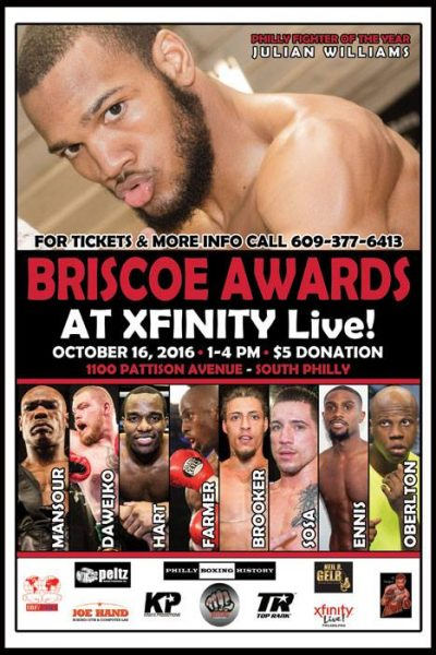 Team Sponsored Events.01 – Briscoe Awards